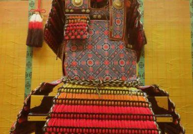 手作り甲冑「三目大札紅裾濃大鎧」