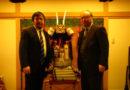 『うえまち新聞』取材/大阪城天守閣北川館長対談 2016年1月6日